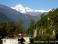 View from Dzongu homestay