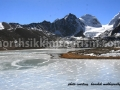 Frozen Gurudongmar Lake, North Sikkim