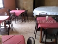 Lachung Hotel dining area